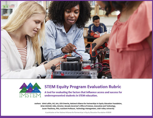 NAPE STEM Equity Program Evaluation Rubric