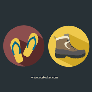 Foot ware illustration
