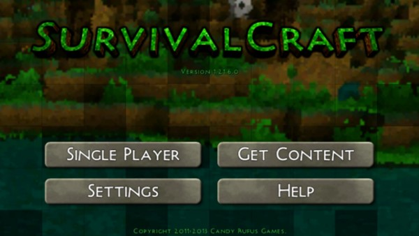 تحميل لعبة survivalcraft