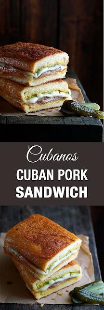 CUBAN PORK SANDWICH (CUBANOS)