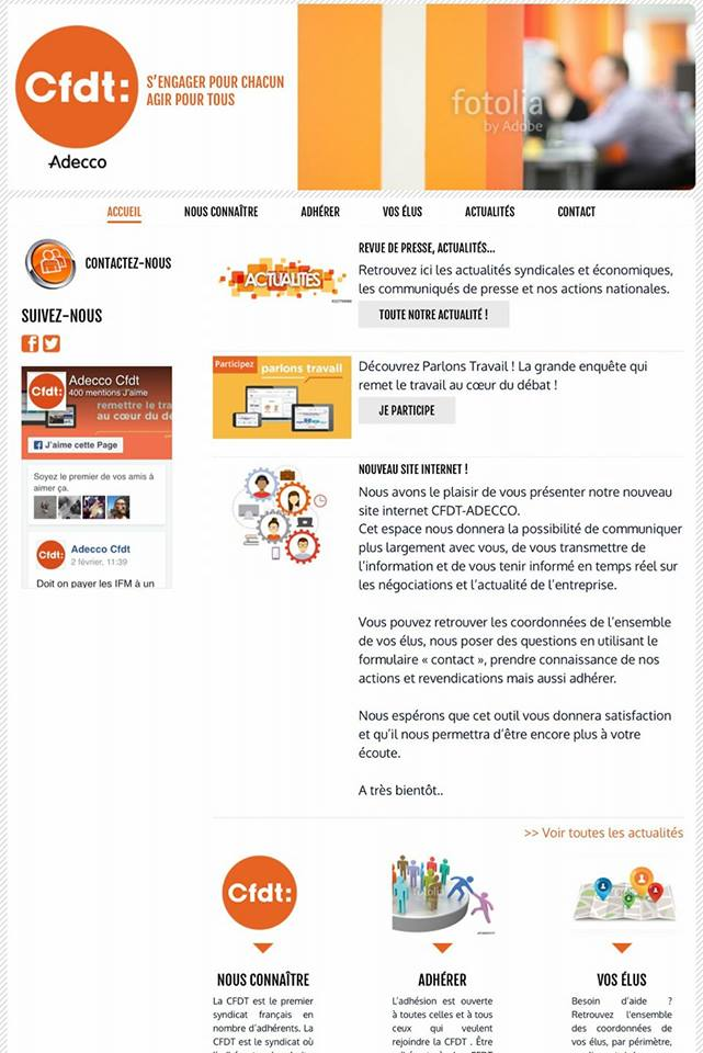Cfdt Adecco Fr