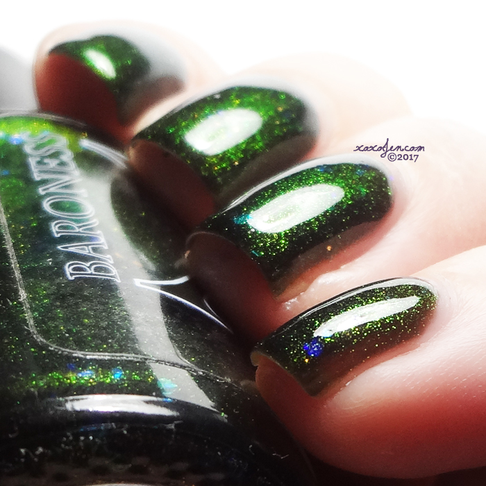 xoxoJen's swatch of Baroness X Event Horizon