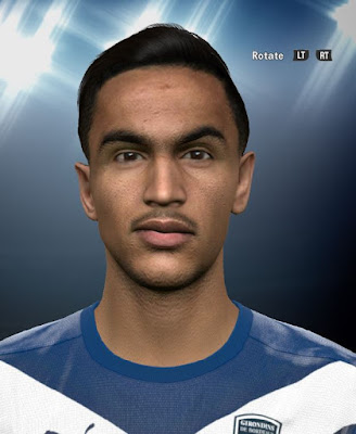 PES 2016 Adam Ounas Face By DzGeNiO