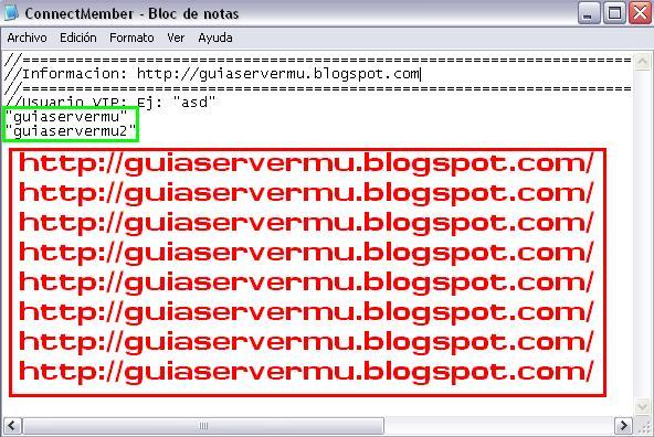 Agregando segundo usuario vip