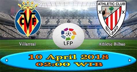 Prediksi Bola855 Villarreal vs Athletic Bilbao 10 April 2018