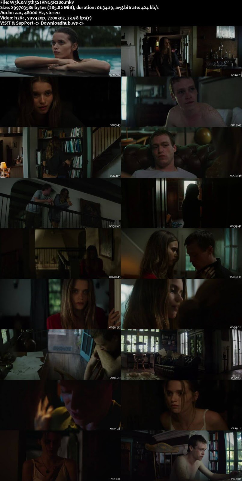 Welcome the Stranger 2018 English 480p Web-DL ESubs