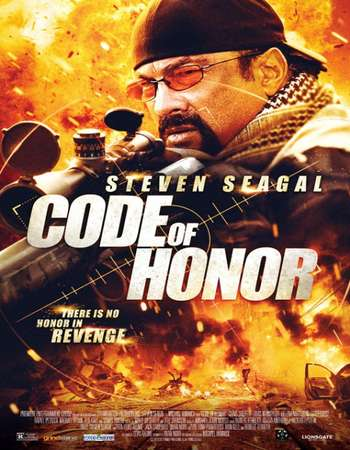 Poster Of Code of Honor 2016 English 350MB BRRip 720p ESubs HEVC Free Download Watch Online Worldfree4u