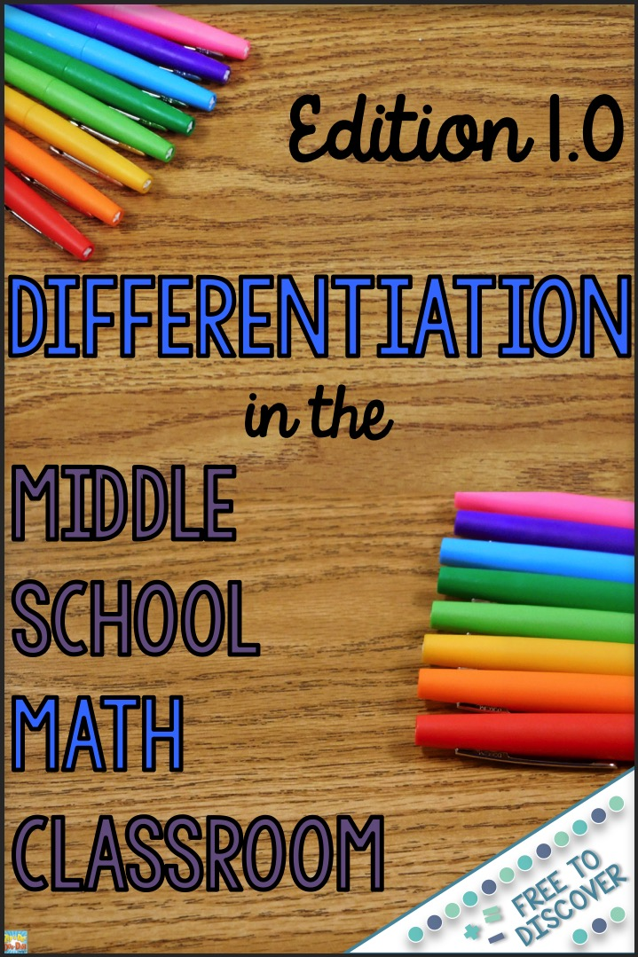 how to differentiate instruction in mixed ability classrooms tomlinson 2001