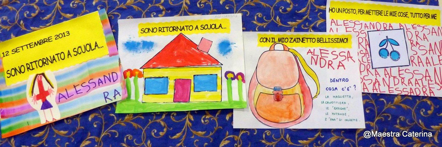 Conosciuto Maestra Caterina: Primi giorni di scuola CG93