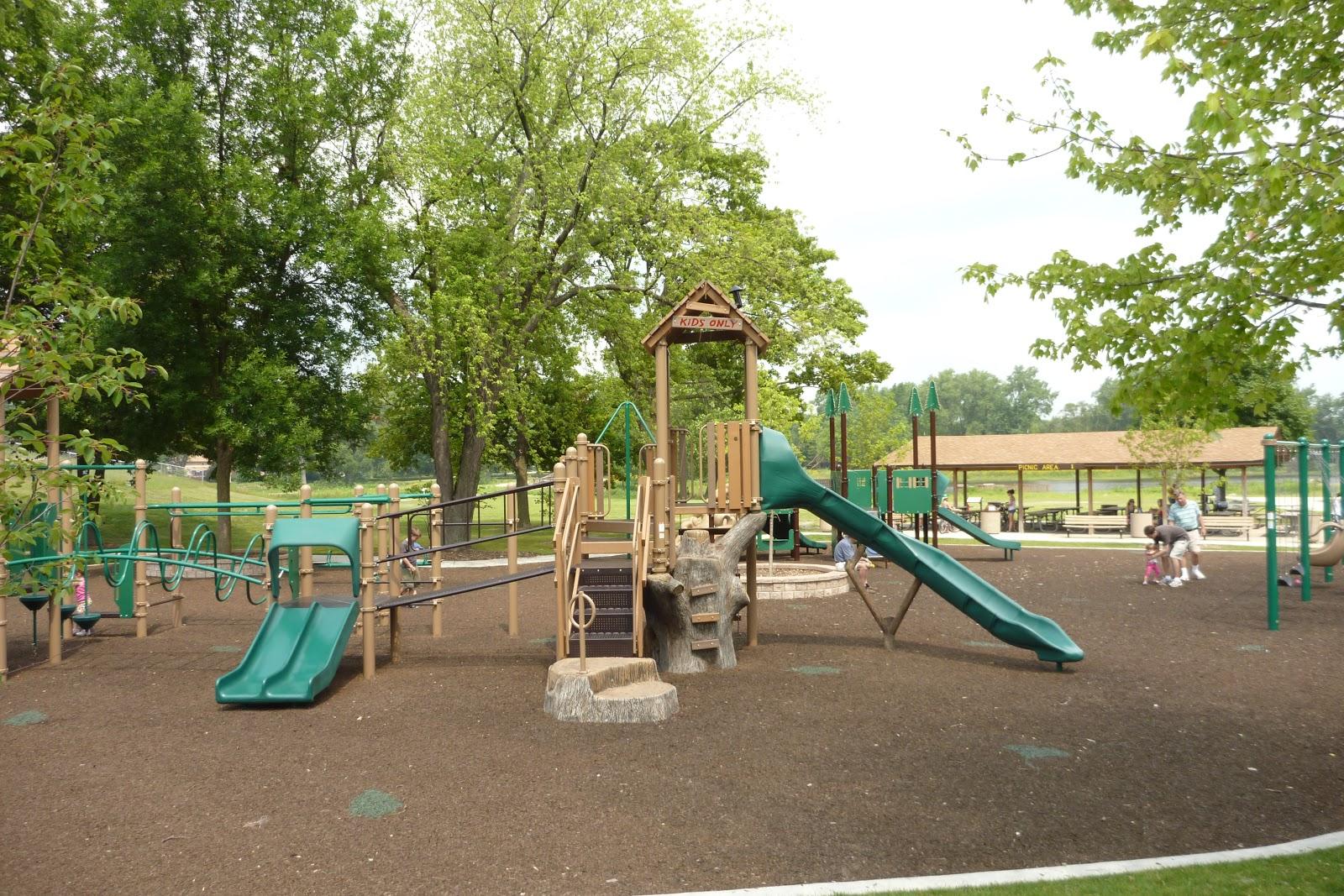 Playground Fun Northside Park Wheaton