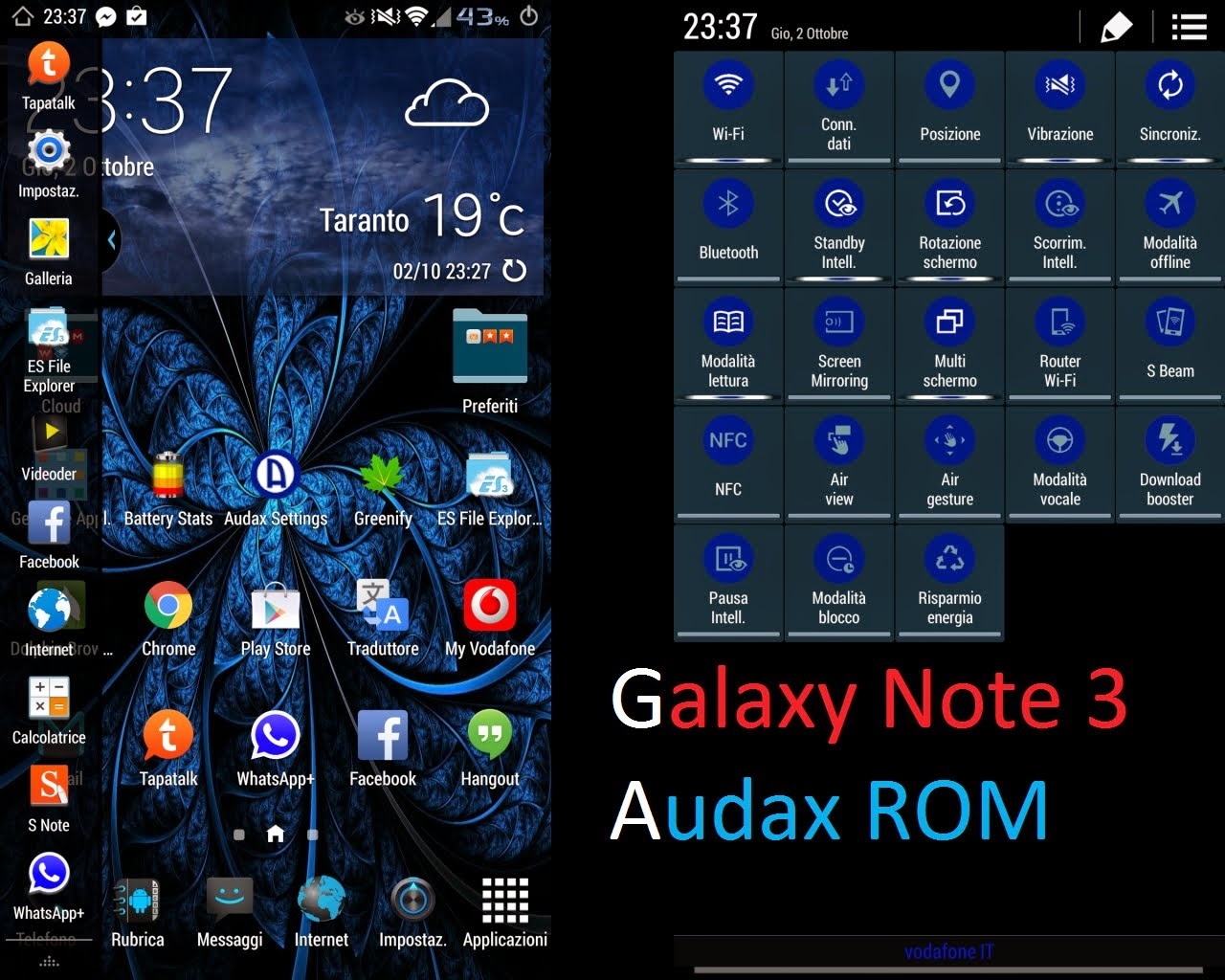 Audax L Android 5.0 Lollipop Custom ROM