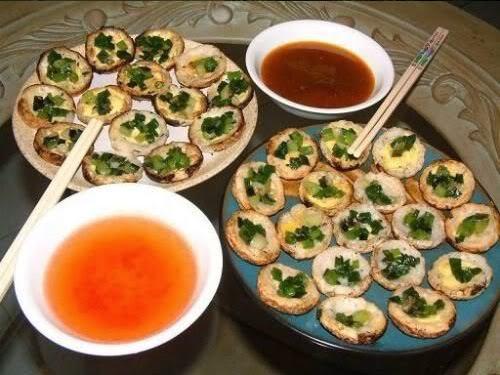 Ẩm thực Nha Trang -Bánh căn Nha Trang