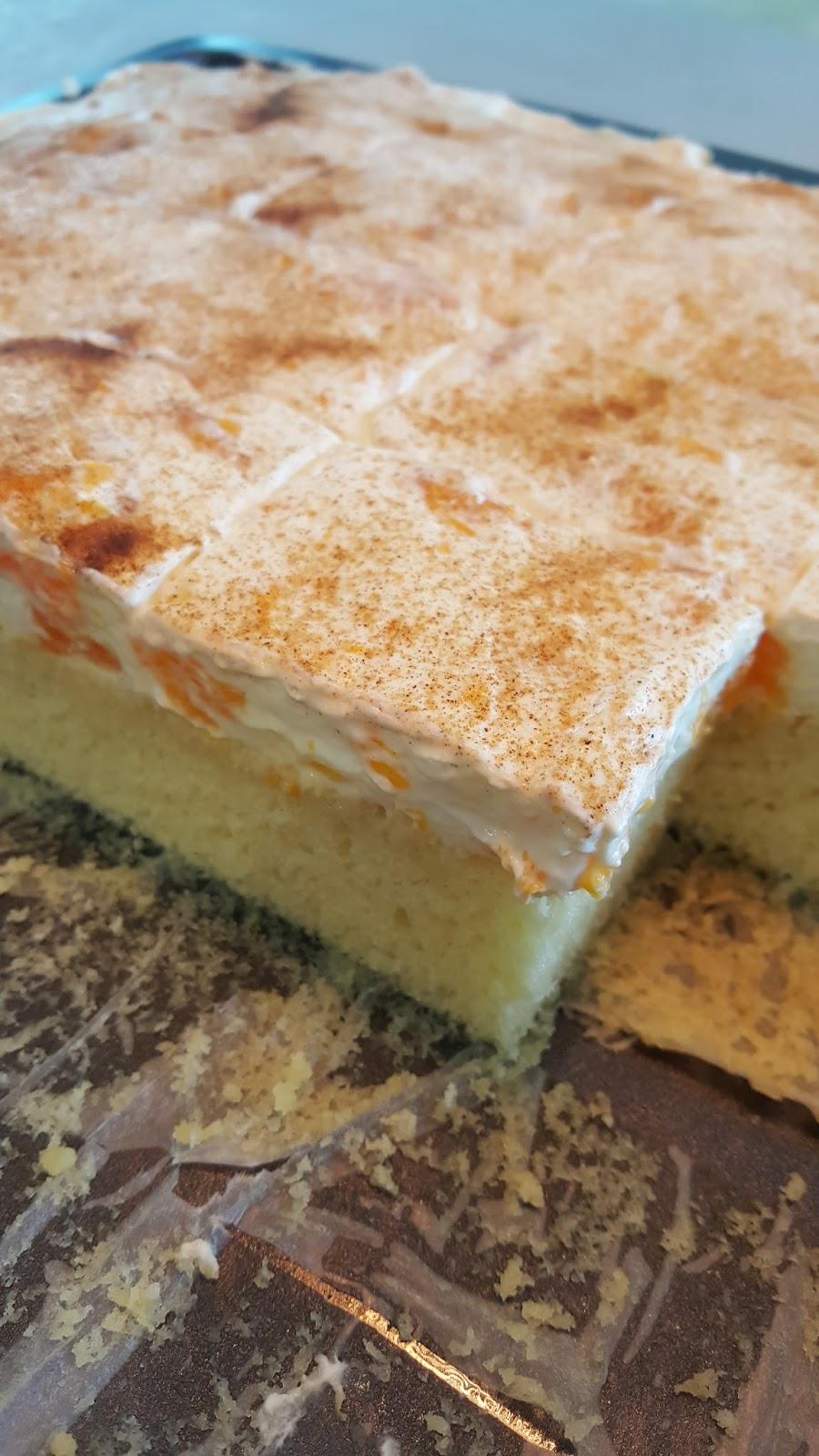 Zauber Zeller Mandarinen Schmand Kuchen Vom Blech