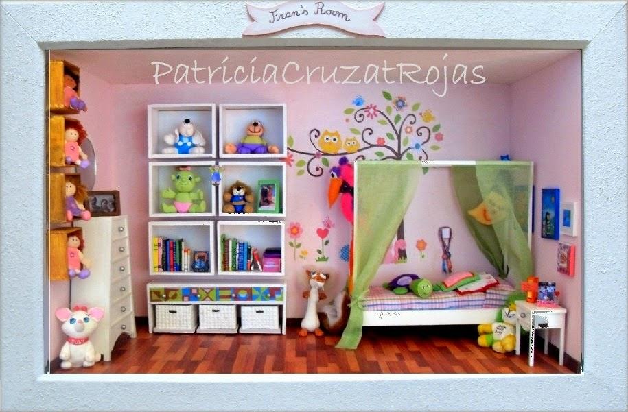 Patricia Cruzat Artesania y Color: Su habitación de Niña en un Gran ...