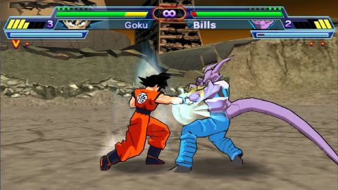 Dragon Ball Z: Shin Budokai 2 Screenshot