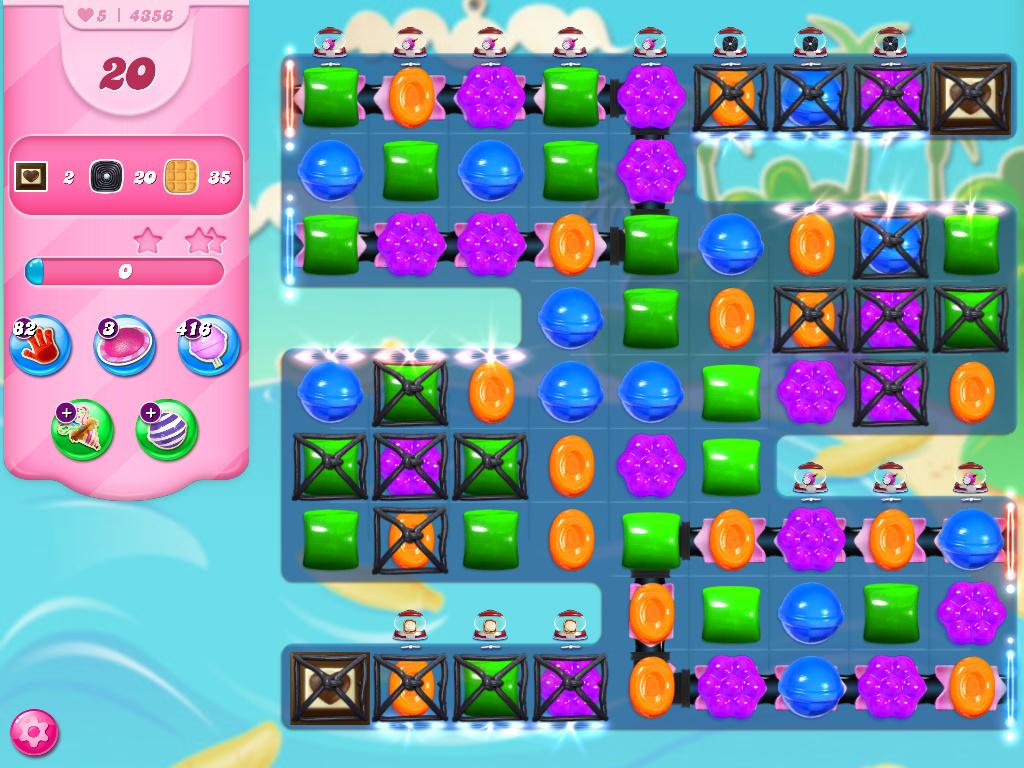 Candy Crush Saga level 4356
