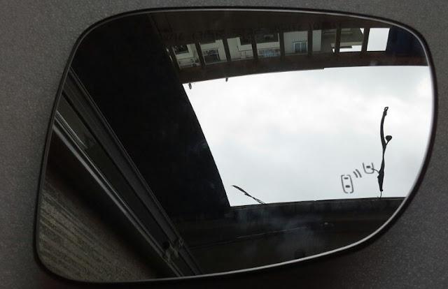 Mặt gương chiếu hậu xe Captiva Revv 2015 chính hãng GM