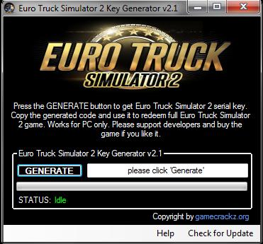 Euro Truck Simulator Product Key