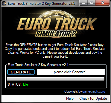 EURO TRUCK SIMULATOR 2 KEY GENERATOR ! - BestGamesHacksInTheWorld