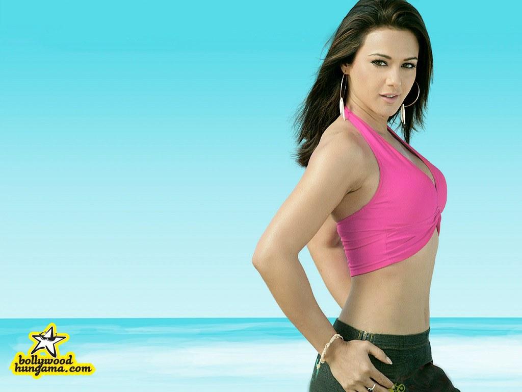 Bollywood Star News Preity Zinta Hot  Sexy Wallpapers -4417