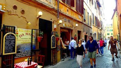 Atmospheric Streets Trastevere Rome
