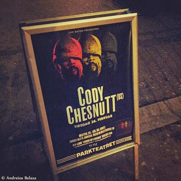 Cody Chestnut concert at the Park theater in Oslo