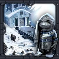 The Frozen Sleigh-Creepy Castle Escape