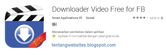 Cara download video di fb lewat hp dengan mudah