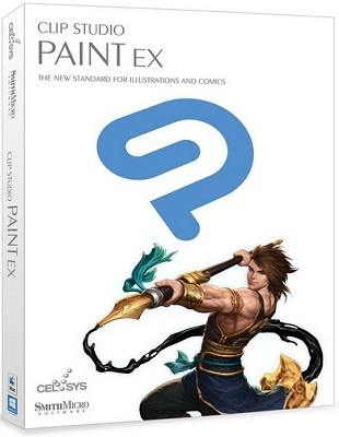 Clip Studio Paint EX 1.6.4 poster box cover