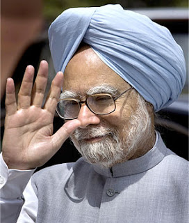 Break On Head Line Of Manmohan Singh's Hand Palmistry