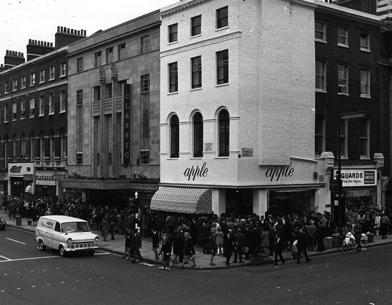 vintage photo of 94 baker street