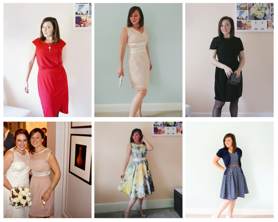 the #wardrobebuilder project - party dresses
