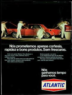 propaganda Atlantic - 1973, anos 70, atlantic década de 70, Oswaldo Hernandez,