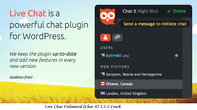 Live Chat Unlimited (Chat X) 2.5.2 Crack Download