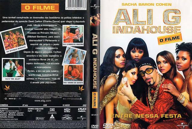 Capa DVD Ali G Indahouse: O Filme