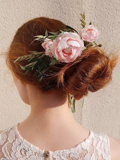 Patouche Chapeaux couronne fleurs de soie mariée mariage