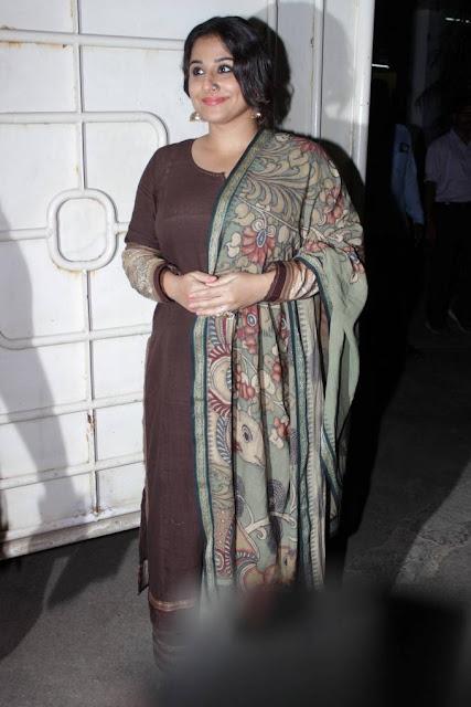 Vidya Balan Stills At Begum Jaan Special Screening