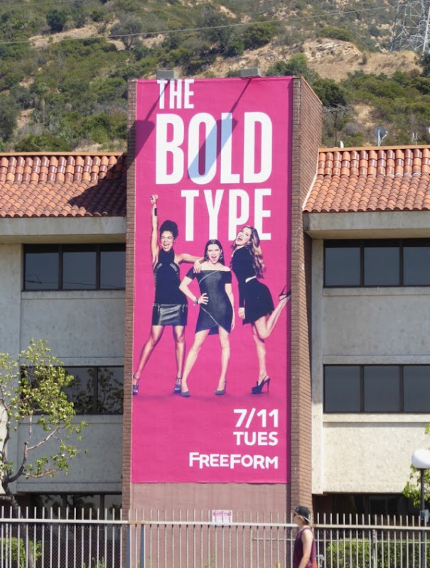 Bold Type Freeform billboard