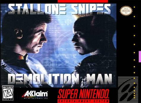 Demolition Man - Super Nintendo