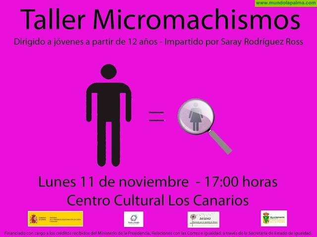 Charla-taller sobre el Micromachismo 'Maite Cruz Morera'