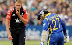 8th match of ICC Champions Trophy 2013 is between England and Sri Lanka.