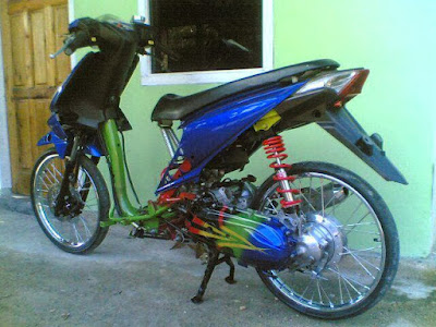 honda beat full modifikasi