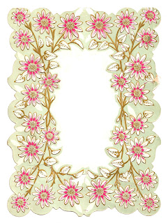 frame digital flower image crafting download