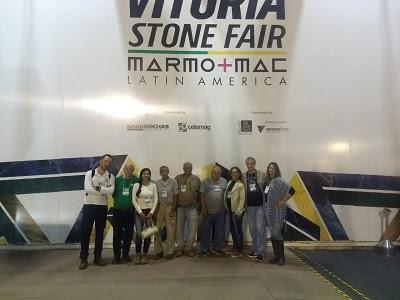 Serviço Geológico do Brasil participa da Vitória Stone Fair 2018