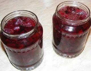 sfecla rosie la borcan pentru iarna, conserve si muraturi pentru iarna, retete, retete sfecla rosie murata, sfecla la borcan, retete culinare, bucataria romaneasca,