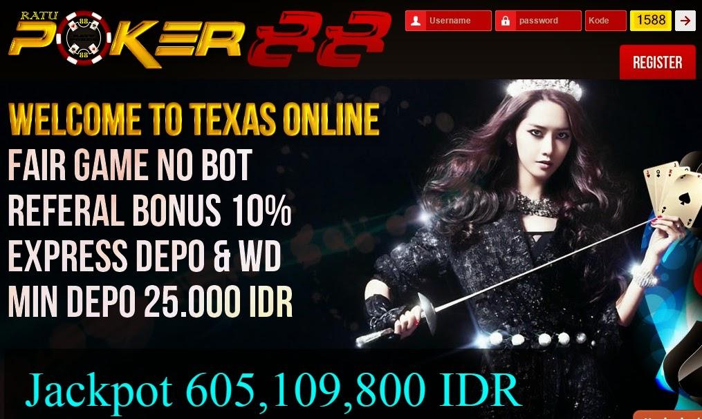 Judi Texas Holdem Online Asli Terpercaya Dan Terbesar Indonesia