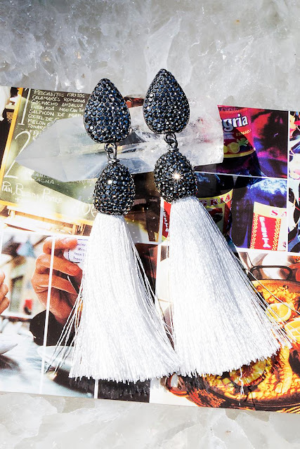 Rocco Tassel Earrings