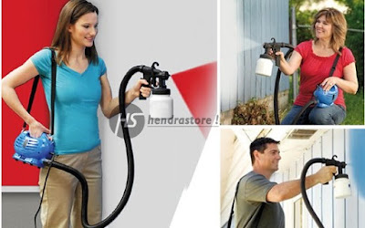 Paintz Zoom Indonesia Asli - Spray Gun Air Brush