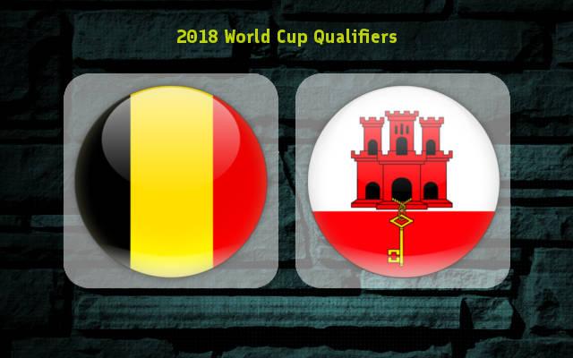 Belgium vs Gibraltar Full Match & Highlights 31 August 2017