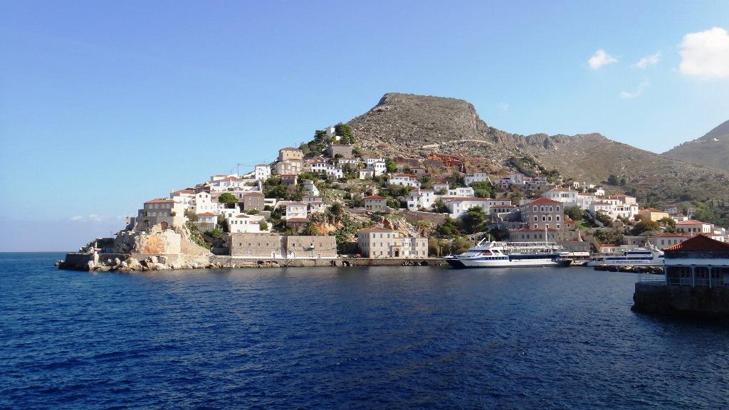 Passeio de barco na Grécia